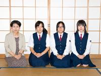 須恵高等学校制服画像